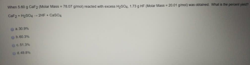 h2so4 molar mass